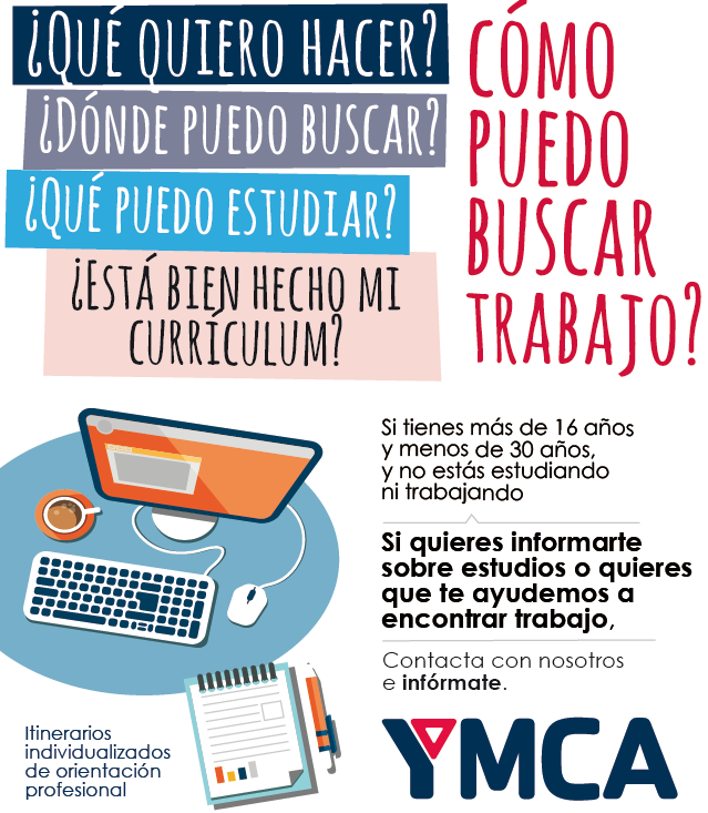 Ymca Te Ayuda A Encontrar Trabajo Injuve Instituto De La Juventud