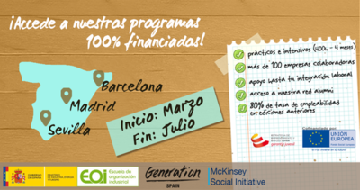 Programa EOI-Generation Spain en Desarrollo Web