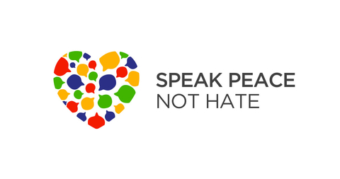 Habla de paz, no de odio. Speak Peace, Not Hate