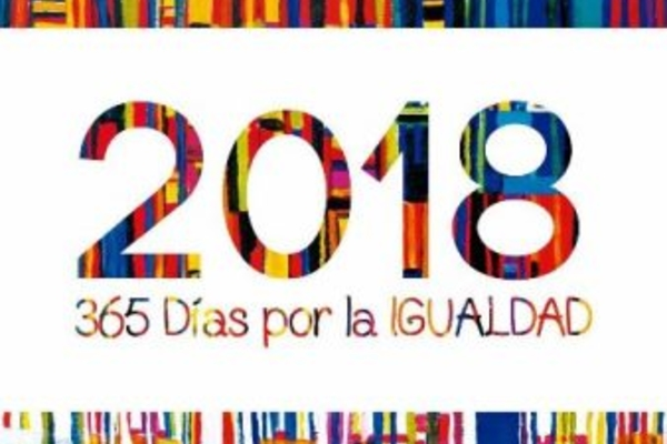 Calendario 2018 365 Días por la igualdad