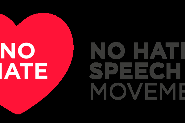 Logotipo de la campaña No Hate Speech