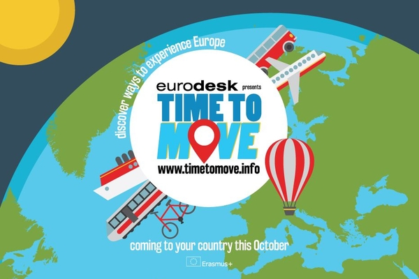 Logo campaña Time to move 2016