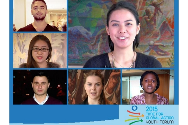 2015 Time for Global Action Youth Forum