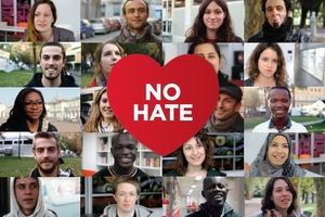 Mosaico de la campaña No Hate Speech