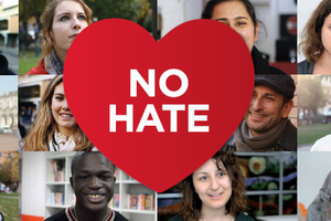 Cartel del movimiento No Hate